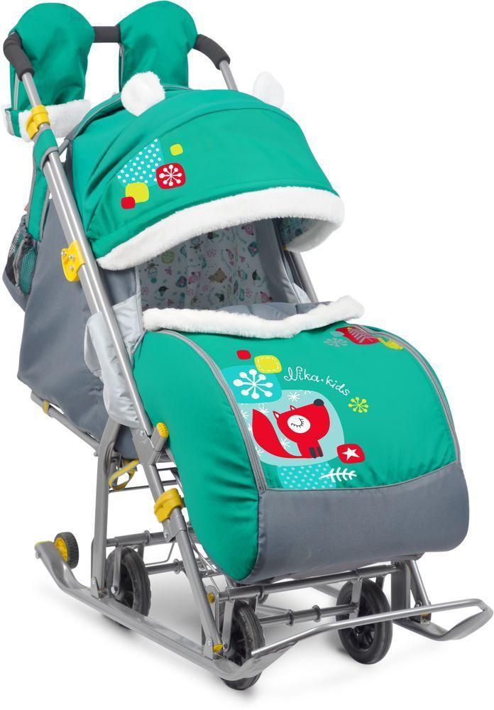 Санки-коляска Ника-Детям 7-2 Лисичка