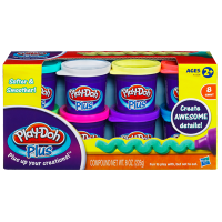 Набор пластилина Hasbro Play-Doh Plus, 8 банок