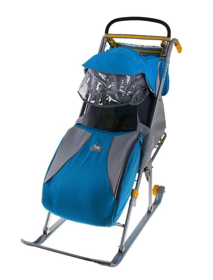 санки коляска для детей от 1 года