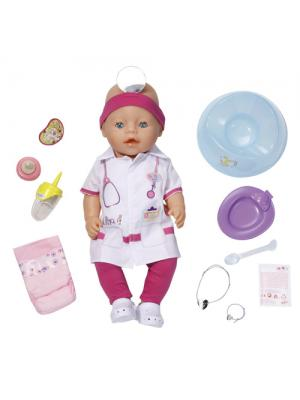 Кукла Доктор Zapf Creation Baby born Интерактивная, 43 см Кукла Доктор Zapf Creation Baby born Интерактивная, 43 см